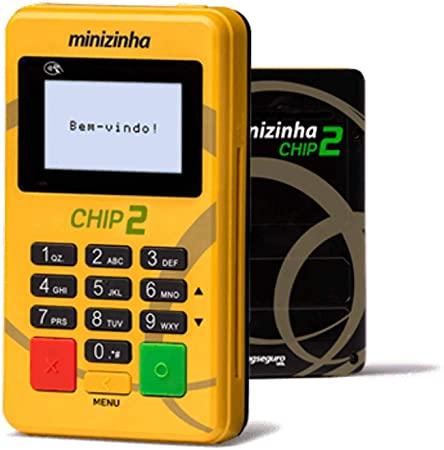 Minizinha Chip 2 Maquininhas de Cartoes